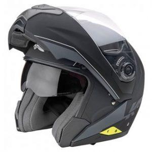 casco da moto modulare