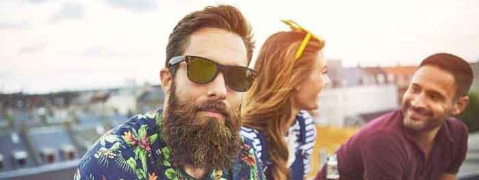 Barba folta con lozione Barba Plus