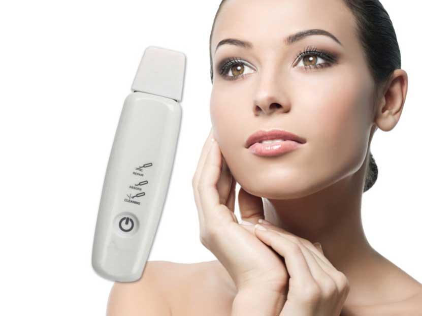skin scrubber dispositivo ad ultrasuoni