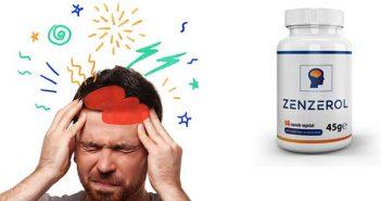 Capsule Zenzerol per mal di testa e cefalee
