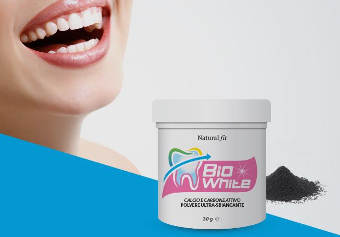 Polvere sbiancante Bio White