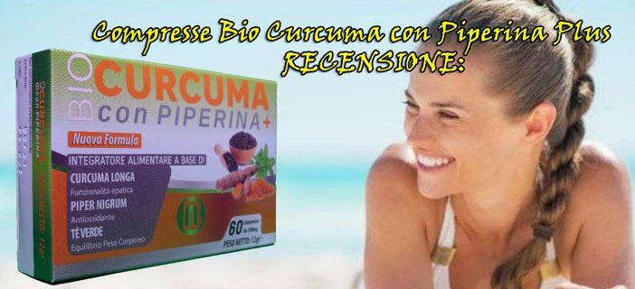 Recensione del prodotto per dimagrire Bio Curcuma con Piperina Plus