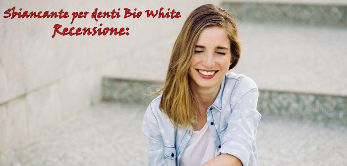 Recensione della polvere sbiancante per denti Bio White