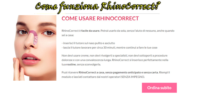 Come funziona RhinoCorrect