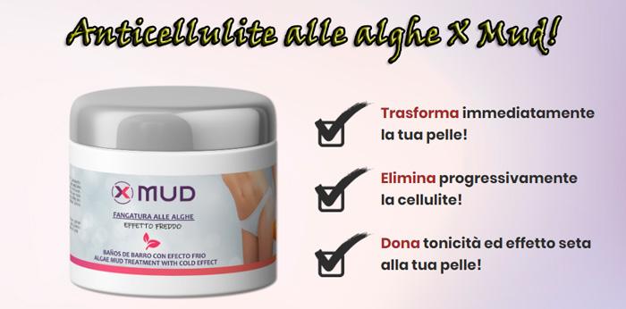 Fangatura anticellulite X Mud