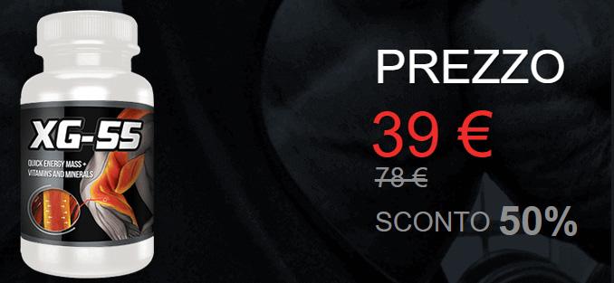 Costo di XG55