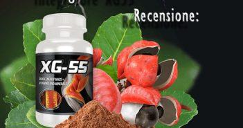 Integratore muscolare per aumentare la massa XG55