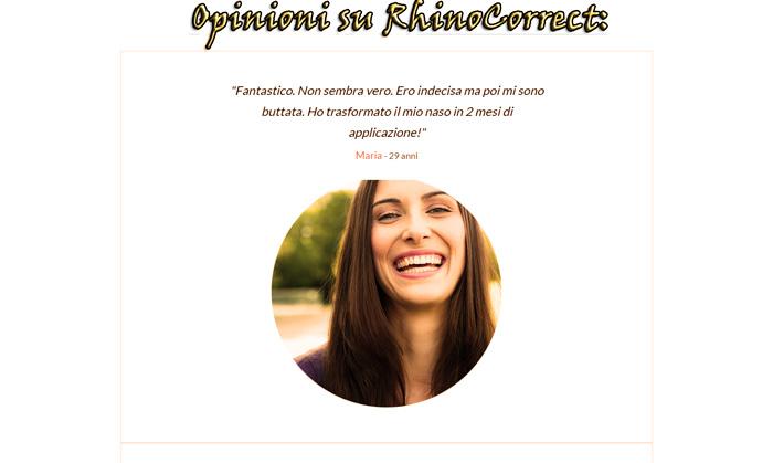 RhinoCorrect Opinioni