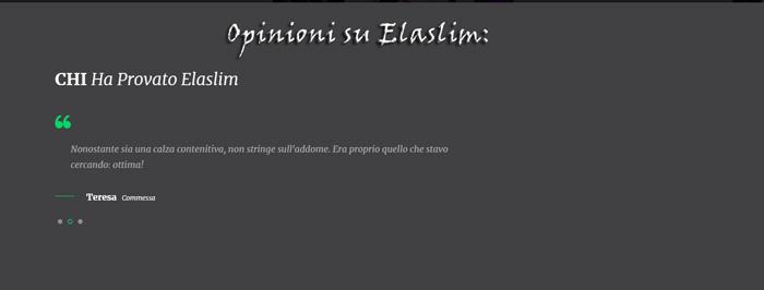 Calze Elaslim Opinioni