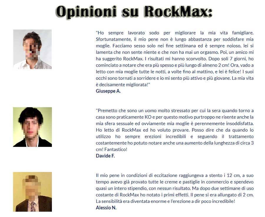 RockMax Opinioni dei clienti