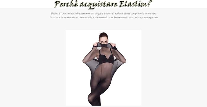 Calze antistrappo Elaslim modellanti