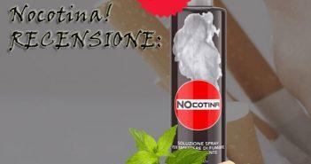 Spray per diminuire la voglia di fumare Nocotina