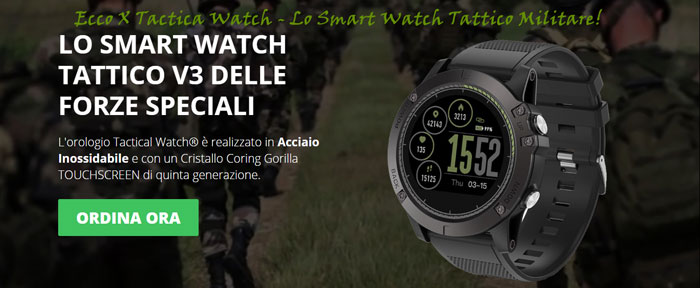 Smart Watch tattico Tactical Watch