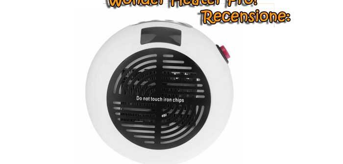 Wonder Heater pro Stufa a basso consumo