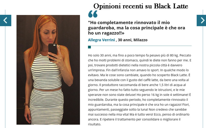 Opinioni e pareri su Black Latte