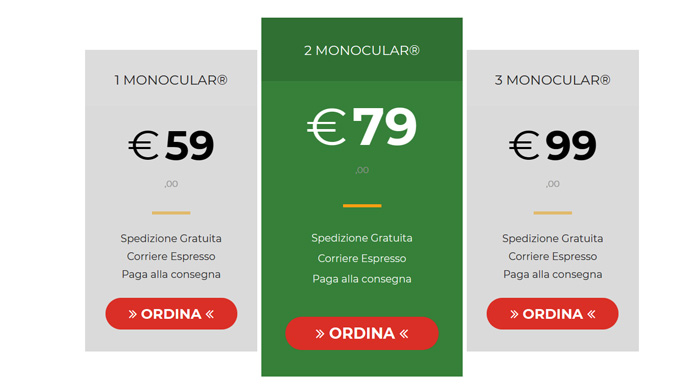 Costo di Monocular