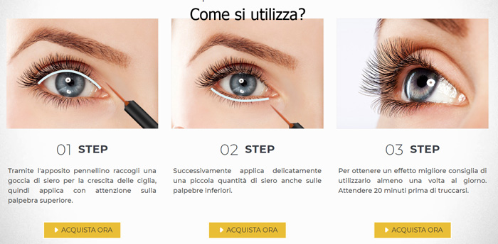 Come si usa Eyelash Serum
