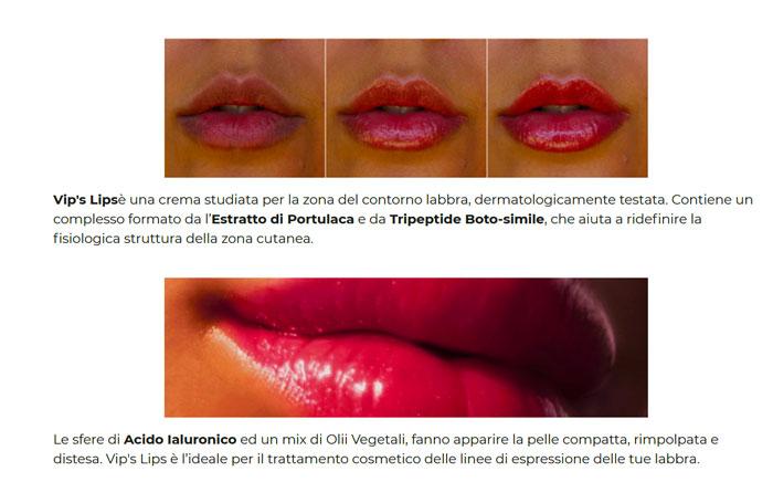 Vip's Lips volumizzante labbra