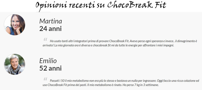 Opinioni su Chocobreak