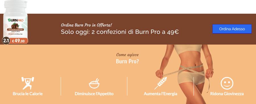 Prezzo di BurnPro