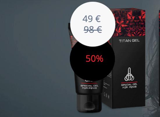 Prezzo di Titan Gel