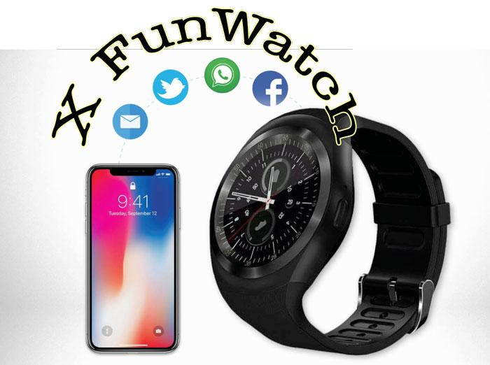 X Funwatch applicazione per il telefono