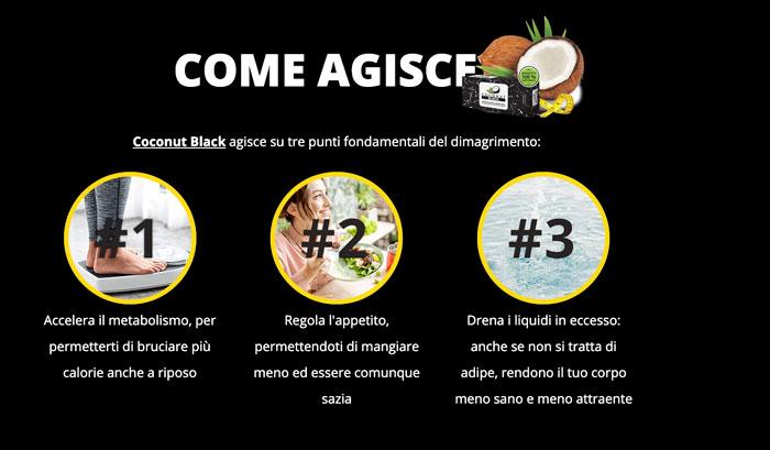 Come funziona Coconut Black
