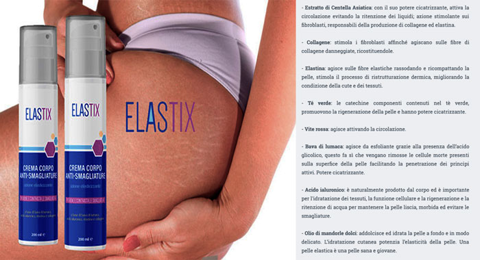 Come funziona Elastix smagliature