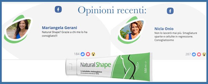 Opinioni e recensioni su Natural Shape