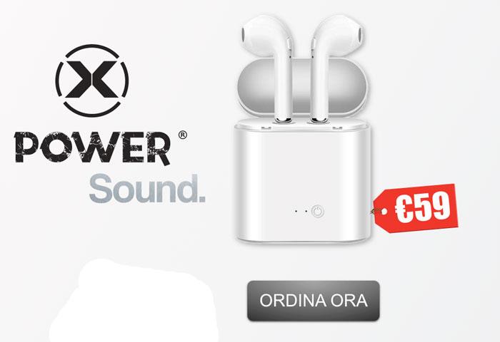 Costo delle auricolari Xpower Sound