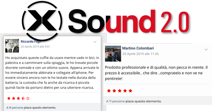 Pareri sulle cuffie X Sound 2.0