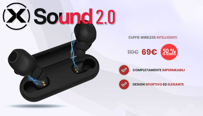 Costo delle cuffie X Sound 2.0