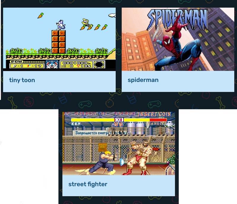 Giochi di G Console Retro